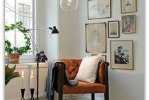 Cozy Corners / cozy decor, cozy interiors, decorate, decorating, interior design, modern, eclectic, minimalist, living room, living spaces, living room ideas