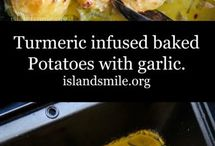 Potatoes and garlic