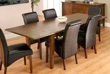 Extending Dining Tables / Extending Dining Table available in solid oak wood, pine, and also Glass top, fantastic look large extending dining table, suit any large dining room. Dining room tables are widely available in a range of designs, sizes, capacities, shapes and materials.