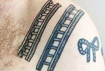 Tattoo / Ledder + cat