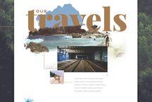 Сайт путешествия