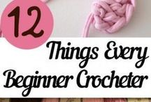 Crochet stitches and tips