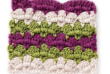 Crochet Stitch Patterns / crochet stitch patterns and crochet how-to tips for weaving in ends, joining squares