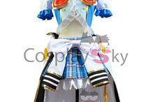 LoveLive! Navy Cosplay Costumes