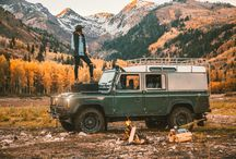 land rover scenery