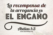 Abdías / #rpsp #Biblia #lectura #cadadia / by Iglesia Adventista del Séptimo Día