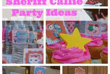 Sheriff Callie Party