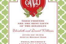 Christmas Invitations / by Gwen Leggett