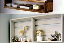 Outdoor shelves