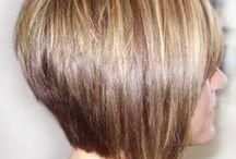 concave bob short fine hair