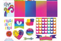 stickers and borders