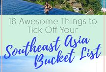 Asia Travel Planning / Pins to help inspire my travel plans to Asia including southeast asia destinations such as thailand, bali, laos and vietnam and travel guides, hints and tips on a budget