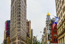 New York / Une ôde à mon coup de cœur citadin: des grandes tours de Manhattan au charme des briques rouges d'Harlem, en passant par le street art de Brooklyn...