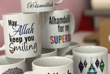 Islamic mugs design