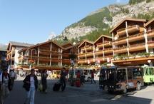 Zermatt / Zermatt je jedno z nejznámějších lyžařských středisek Švýcarska a Evropy vůbec.