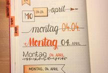 Bullet Journal idea