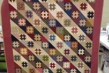 Quilts with Churn dash and Shoo fly patterns / Квилты с блоками Маслобойка и Пирог