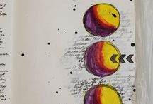 Art - Journals with Circles