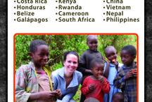 Volunteer- travel / by Amanda Phillips