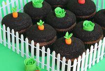 Peter rabbit cupcake