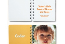 Mini Book of Names & Faces / Teach your child the most important people, places and things in their life with a custom Board Book.   Choose your favorite photos and personalize  the large, easy-to-read text. This childrens' board book is perfectly sized for little hands!