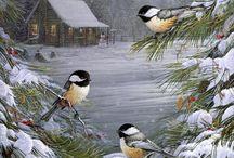 Зима, новый год, Рождество
