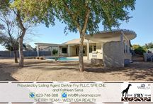 """SOLD! Rovey Farm Estates Basement Home / If you are looking for properties to sell, buy or to rent, let """"The Fry Team"""" make it simple for you. CALL 623-748-3818 or visit www.FryTeamAZ.com for more info. ~~  8371 W Morten Avenue, Glendale, AZ 85305 5 Bed 