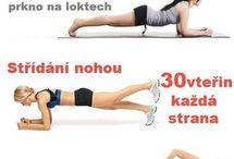 cvičení denně