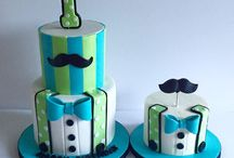 1st birthdays little man theme
