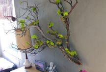 decoratie met takken of natuur