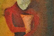 Paintings by Lasse Øien.