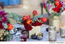 Adding colour to a wedding / Find out how you can incorporate your chosen colour scheme into your wedding