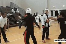 martial arts and shit