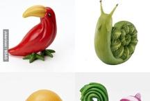 voedsel decoraties