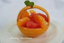 POSTRES  CON FRUTAS / Cualquier tipo de dulce que lleve fruta en su elaboración