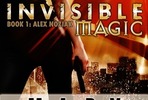 INVISIBLE MAGIC - Book 1 Urban Fantasy Invisible Recruits series / Jump into the best selling Alex Noziak URBAN FANTASY series as you join part witch/part shaman Alex on her first mission!  The trouble, and fun, has only just begun...