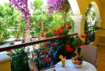 Room with a view... / Delfino Blu hotel is composed of 12 studios, apartments and 3 suites (of which one is a Honeymoon Suite). Enjoy serenity and relaxation, far from cosmopolitan Corfu Town. http://goo.gl/pBeCw2