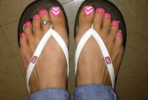 Toes....