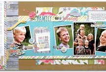 scrapbooking double page layouts