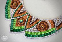 beaded embroidered jewellery