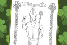 St. Patrick's Day Coloring Pages and Activities / Great free coloring pages for St. Patrick's Day.