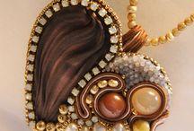 украшения в стиле шибори