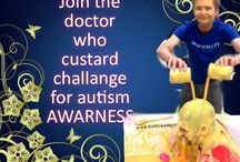 Doctor Who custard Challenge / Have custard poured over your head