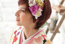 袴 髪型 / http://mhc-s.jp 卒業式のヘアアレンジの参考に!専属スタイリストが1着1着スタイリングしています。ヘアアクセもオプション販売しています。