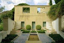 architecture. Garden