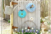 """Outdoor Projects / Because """"Time Began In A Garden"""""""