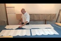 Ultimate Scalloped Valance Pattern With Video Instructions! / Finally you can have a Perfect Window Treatment with out being a perfect seamstress! Go to our websites for step by step video instructions. https://www.factorydirectdesignersworkroom.com