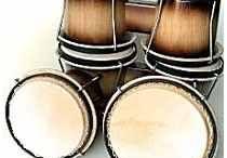 instrumento de percussao bongo