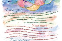 faith hope love grace joy / by Laura Snyder