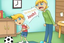 Oh My Gosh Josh Loves Soceer (His Mom Not So Much) / This is a funny children's book about raising kids who love soccer.